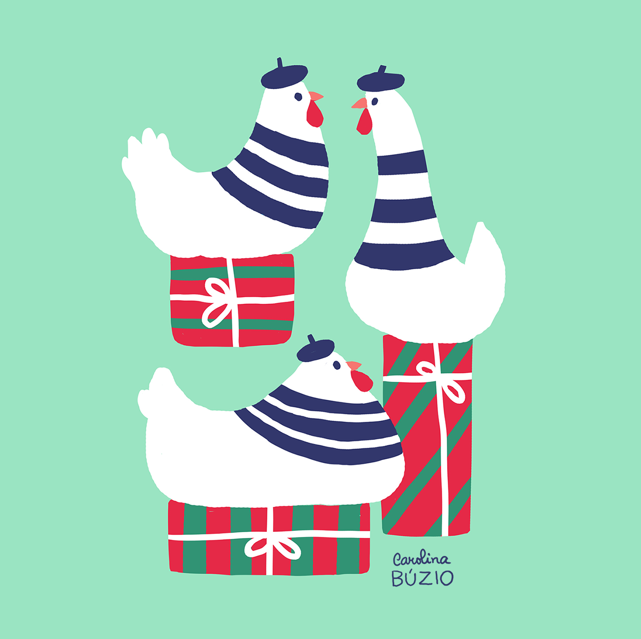 French Hens and 3 days for December to start!